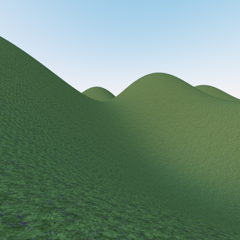 Path Tracer - Shape - Terrain