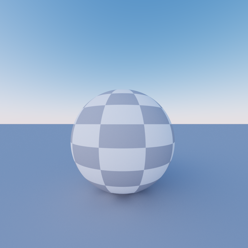 Path Tracer - Texture - Checkerboard